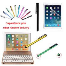 "Hot Built-in Bluetooth 3.0 Wireless Keyboard Smart Case with Screen Protector Film + Stylus Pen for iPad Pro 9.7""/ iPad Air 2(China)"