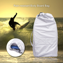 Rain-resistant Surfboard Storage Bag Body Board Bag Storage Pouch Snowboard Surfboard Surfing Bodyboard Bag Carry Bag Clip Cord(China)