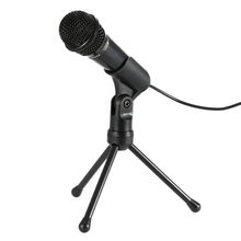 2016 Professional SF-910 Condenser Microphone Potrable Mic Sound Studio Podcast 3.5mm w/ Stand For Skype Desktop PC Notebook