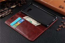 For Samsung Galaxy C5 C5000 phone case Soft PU Flip Stand TPU SilIcone Cover Shell With Card Slot wallet protection Holster