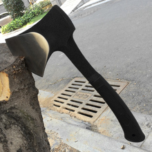 High Carbon Steel Woodworking Axe Outdoor Survival Hatchet Camping Hand Tools Anti-slip Design Travel Tool(China)