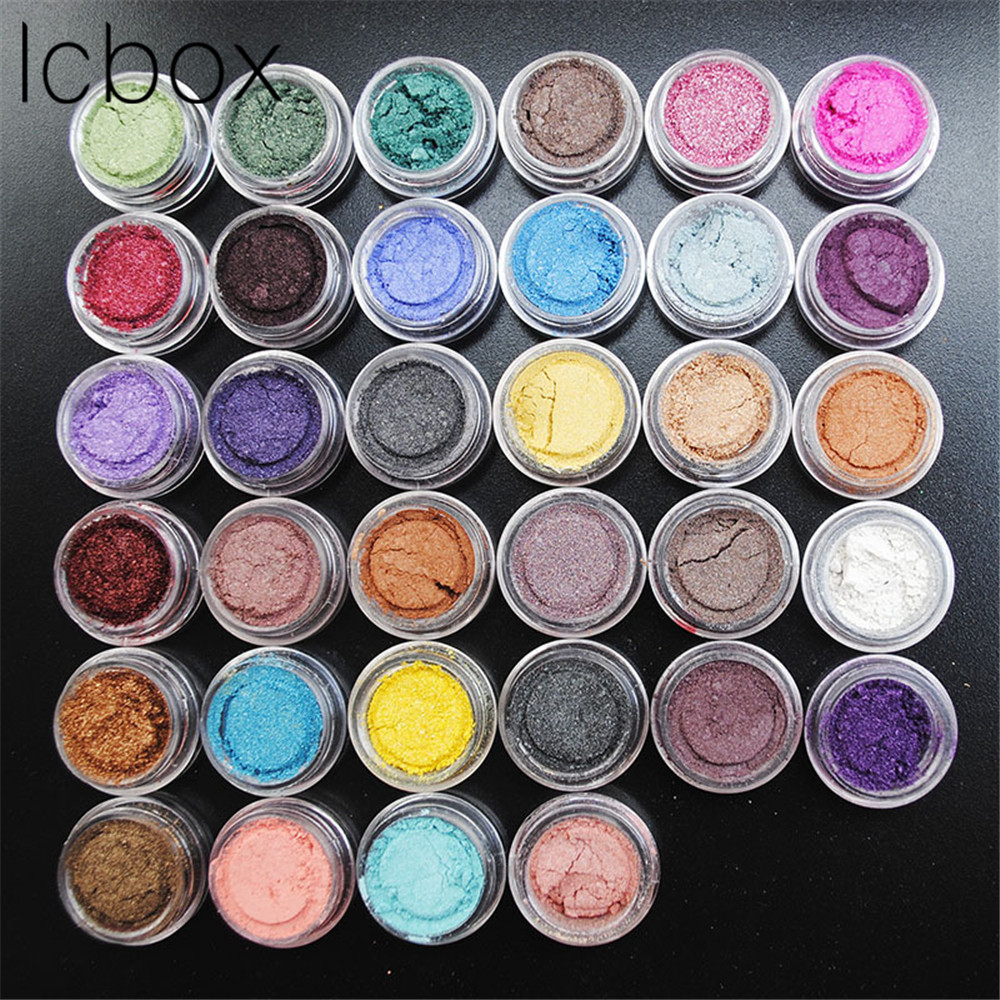 LCBOX 50PCS Mixed Color Professional Nude Eyeshadow Makeup Matte Eye Shadow Palette Make Up Glitter Eyeshadow Shade For Eyes<br>