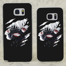 C0101 Kaneki Ken Tokyo Ghoul Transparent Hard PC Case Cover For Samsung Galaxy S 3 4 5 6 7 Mini Edge Plus Note 3 4 5 7(China)