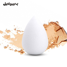 Makeup Sponge High Quality Smooth Powder Beauty Cosmetic Puff Make up Blending Tools Grow Bigger in Water Gourd+Water-Drop Shape(China)
