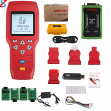 OBDSTAR X-100 PRO Auto Key Programmer (C+D) Type for IMMO+Odometer+OBD Software Get OBDSTAR PIC and EEPROM 2-in-1 Adapter Free