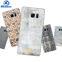 DIY For Samsung Galaxy S6 Edge Plus Phone Case For Galaxy S6 / S6 Edge Shell For Galaxy Note7 Soft TPU Bricks Printing Coque