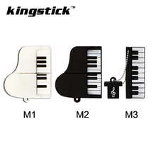 2017 High speed mini piano USB Flash Drive Fashion music pendrive 64GB pen drives 4GB 8GB 16GB 32GB music instrument usb disk