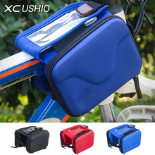 Buy Mountain Bike Bicycle Bag Top Front Frame Tube Bag Phone Container Double Side Touch Screen Cycling Bag 1.5L Cycling Accessories for $9.99 in AliExpress store