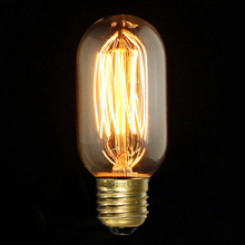 Edison Vintage Antique Retro Style E27 Saving Bright T45 Classical 40W/220W Light Ceiling Lamp Bulb