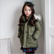 0180eafe7 2017 New Design Girls Autumn Winter Warm Coat Kids Jacket Fur Hooded ...