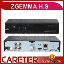 2PCS Zgemma Star H.S Satellite Receiver Single Tuner DVB-S2 Linux Operating System 2000 DMIPS CPU Processor Free Shipping