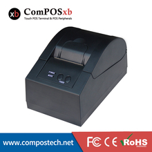 New Mini Receipt Thermal laser Printer 58mm driver with USB quick speed printing POS5870(China)