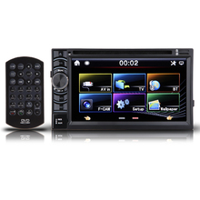 "2 Din Universal Car Stereo Radio DVD Player 6.5"" HD In Dash Bluetooth Wireless Car Player High Quality Support FM/MP4/USB/SD/AM"