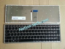Brand New Replacement keyboard for LENOVO Ideapad Z710 U510 series QWERTY US version layout with frame