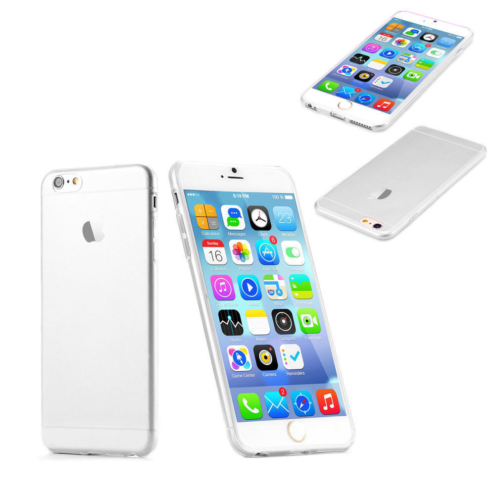 New Transparent Clear Case Soft TPU Case Silicone Cover Ultra Thin Mobile Phone Case for IPhone 8 5 5s 6 6s Plus 7 7plus 8 Plus