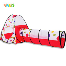 Outdoor Baby Climbing Tunnel Foldable Tent Kids Indoor Playhouse for Camping Toys