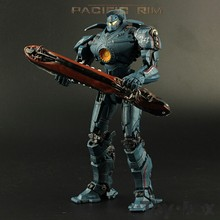 Movie Pacific Rim Hong Kong Brawl Jaeger Gipsy Danger Toy PVC Action Figure Model Gift(China)