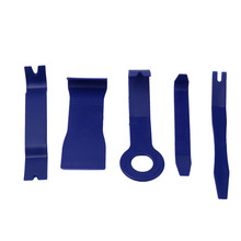 2017 5 Pieces Car Door Plastic Trim Panel Dash Installation Removal Pry Tool Kit Blue tackle car-styling car accessories new