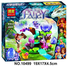 BELA 10449 83pcs Friends Emily Jones & the Baby Wind Dragon Model Building Blocks Toy Compatible 41171 Bricks set Elves Toy P641