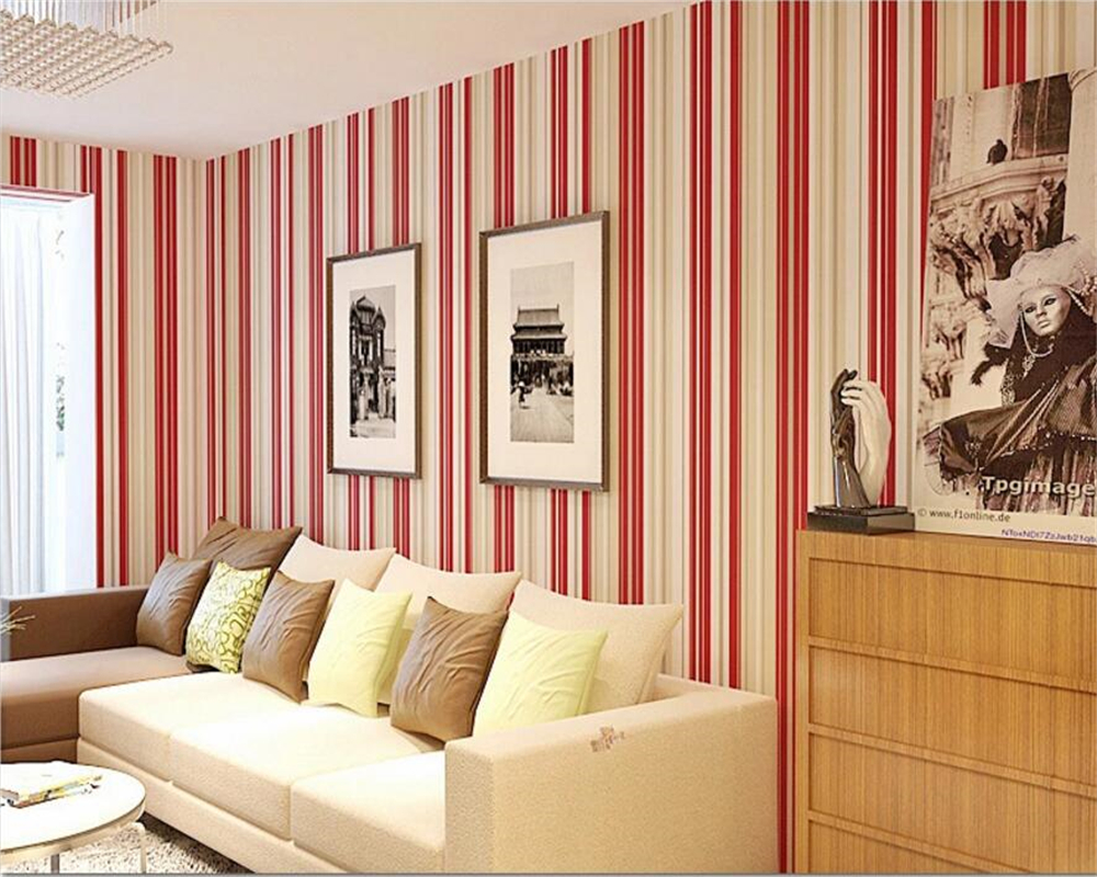 Contracted stripe wallpapers  background of the sitting room the bedroom wallpaper wallpaper 0.53 x10 m wall paper on the wall<br><br>Aliexpress