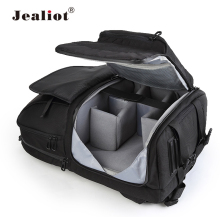 Jealiot Multifunctional Camera Bag Backpack DSLR digital Video Photo Bag case Professional waterproof shockproof for Canon Nikon(China)