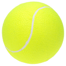 "9.5"" Oversize Giant Tennis Ball for Children Adult Pet Fun(China)"