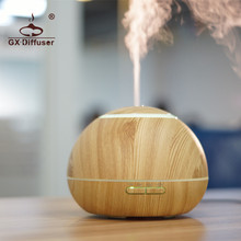 GX.Diffuser 2017 Hot Newest Changing LED Lights Air Humidifier Mist Maker for Home Office Appliance Essential Oil Aroma Diffuser(China)