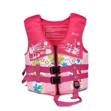 Swimming Life Jacket Fishing Life Vest Floating Vest  Outdoor Water Sports  Boy  Girl Drifting Swimming Pool Accessories Cartoon