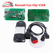 V168 Renault Can Clip OBD2 Diagnostic Tool Keep Update Can Clip V168 Special For Renault Work For 1998-2016 Car Model(China)