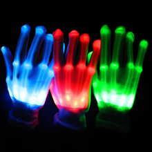 2017 Real Led Wedding Dress 3pair/lot Light Up Party Gloves Led Cool Concert Gloves,disco Dance Accessories Halloween Supplies
