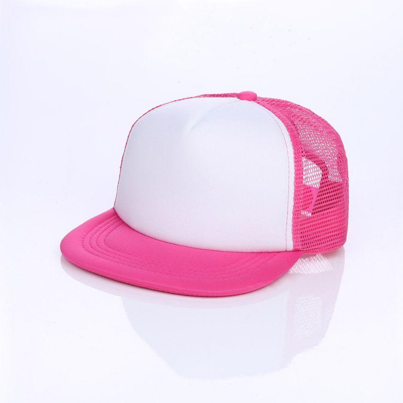 524469feb97 Adjustable Boy Baseball Cap Blank Plain Snap Back Hats Unisex Men S ...