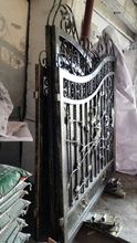 Shanghai China factory producing  wrought Iron gates high quality export to U.S ,model  h-wig2