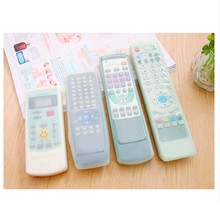 TV Remote Control Set Waterproof Dust Silicone Protective Cover Case Stylish(China)