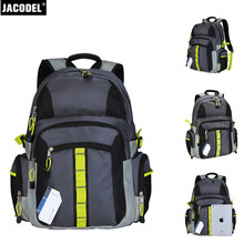 Jacodel Laptop bag laptop 18 inch Travel Outdoor Sport Backpack Men Notebook Computer Backpack for Laptop With large capacity(China)
