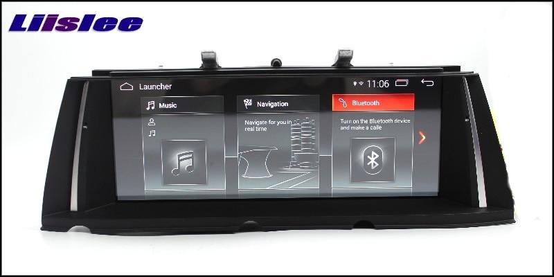 For BMW 7 F03 F04 F01 F02 NBT 2013~2015 LiisLee Multimedia GPS Audio Hi-Fi Radio Stereo Original Style For NBT Navigation NAVI 11111