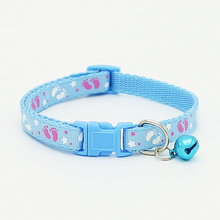 6 Colors Top Quality Cute Fashion Nylon Pet Collars with Bells For Small Dogs Necklace Puppy Kitten Cat Collars Free Shipping(China)