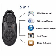 Buy 3 in1 Wireless Bluetooth Gamepad Android IOS PC Laptop TV Box Game Controller Selfie Remote Shutter Mouse joystick joypad for $4.37 in AliExpress store
