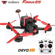 Walkera Furious 215 RTF Witith DEVO 7 or F7 or 10 transmitter Camera 600TVL F3 Flight Control RC Quadcopter Racing Drone(China)