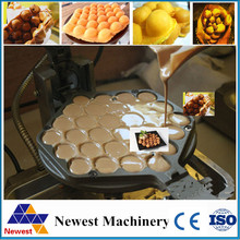 Industrial Restaurant Equipment Cast Iron Electric Egg Waffle Maker, Eggette Machine(China)