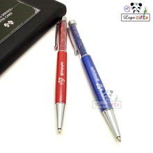 New style dismond metal pen with metal top 1000pcs for Sale customized logo/website/phone service for school/enterprise