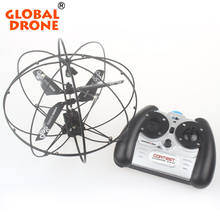 Global Drone Mini RC Flying Ball 3Ch Gyro Flying Remote Radio Control RC Quadcopter Drone Gift for Kids Teenagers without Camera