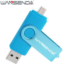New usb 2.0 OTG Pen Drive 64gb 32gb High Speed usb flash drive 4gb 8gb 16gb Pendrive for Mobile/PC micro usb stick Flash Drive(China)