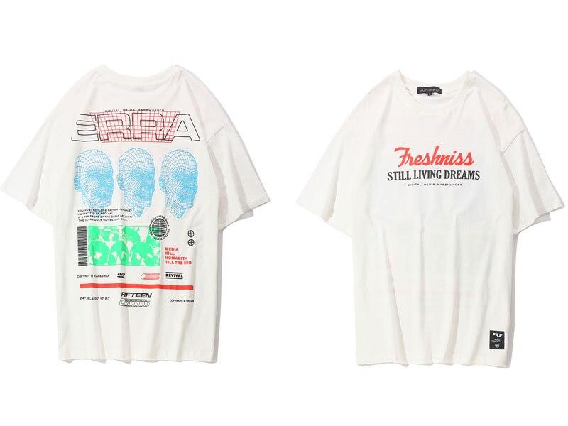 3D Line Printed Tshirts 5
