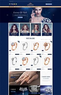罗曼计★三色 珠宝 饰品 假发 行业通用 自定义装修