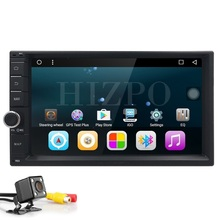 3G Quad core 2 din 7 inch android 6.0 Universal Car DVD Player juke qashqai almera x trail note X-TRAIL for Nissan GPS+2din DAB+