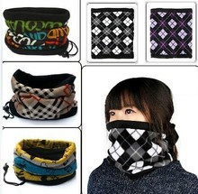 Sunscreen Sport Ring Scarves Fleece Neck Warmer Snood Scarf Hat Unisex Thermal Ski Wear Snowboard Muffler Neckerchief