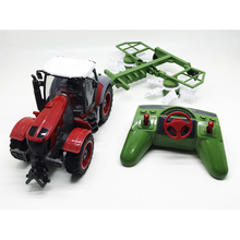 New RC Car Remote Control Farm Tractor lawn mower Machine Cutting Grass Farmer car(China)