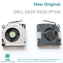NEW FORCECON F6H3 CPU FAN FOR Dell Latitude D620 D630 PP18L Inspiron 1525 1526 1545 PP41L CPU COOLING FAN(China)