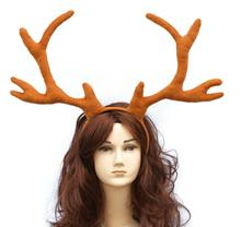 handmade moose Antlers headband halloween animal fairy cosplay prop vintage new Halloween Christmas gifts(China)