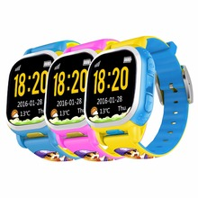 Tencent QQ Watch Kids GPS Tracker Smart Watch Wifi SOS Pedometer Alarm Weather Phone Camera LBS Remote Locating Security